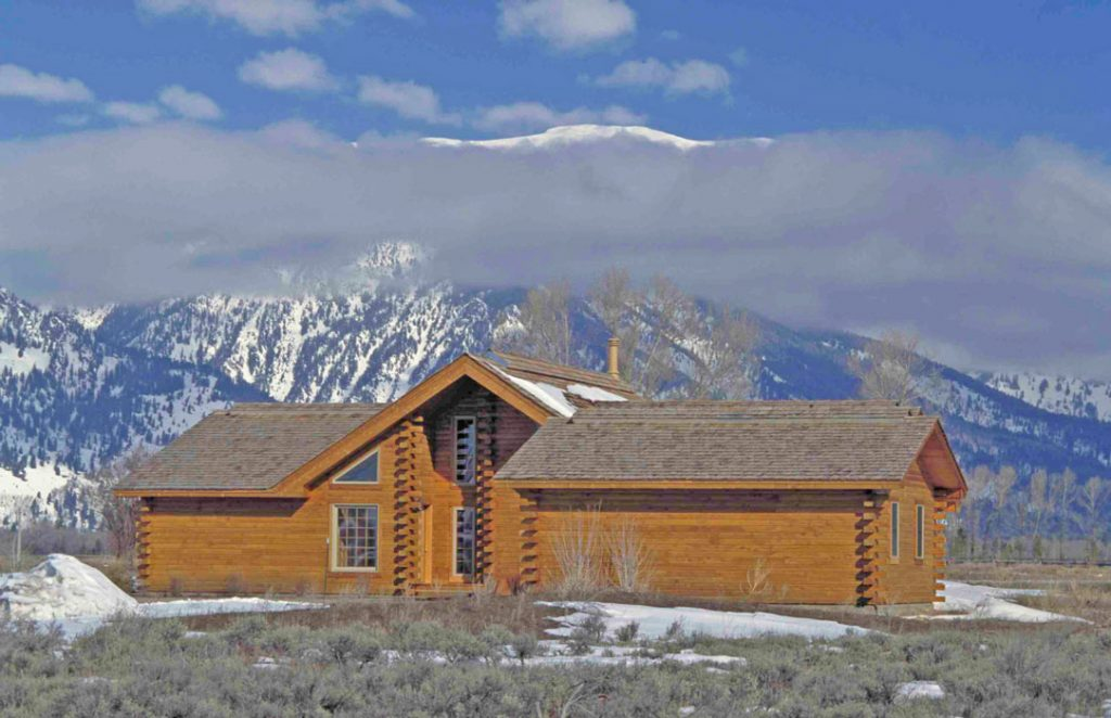 Building a Log Home From Start to Finish