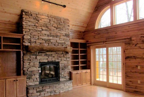 Log Home Heating and Cooling Efficiency Tips