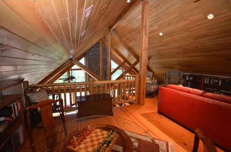 Find the Perfect Loft Design for Your New Log Cabin