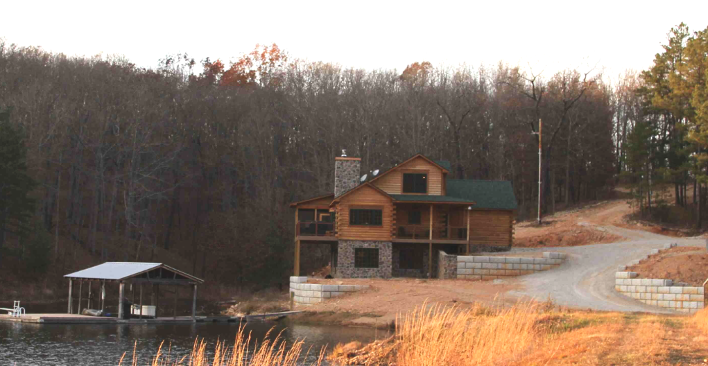 Log Home Living is Good for Your Health