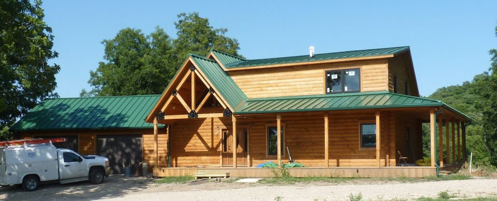 Choosing Your Log Home Heating and Cooling Systems