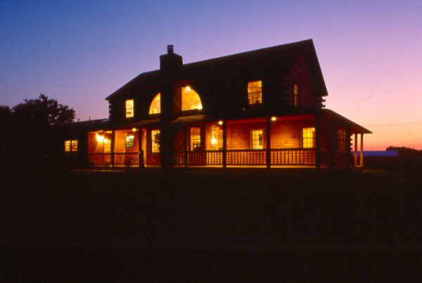 What Exterior Maintenance is Necessary for a Log Home