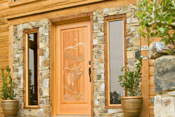 Choosing the Right Exterior Doors for Your Log Home