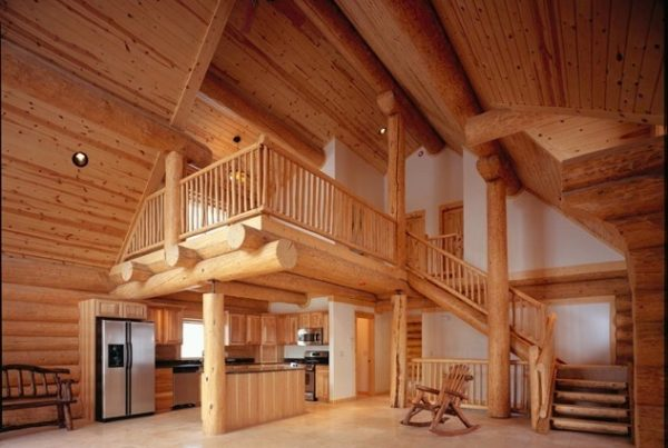 Did You Know GLH Offers Handcrafted Pine Log Homes?