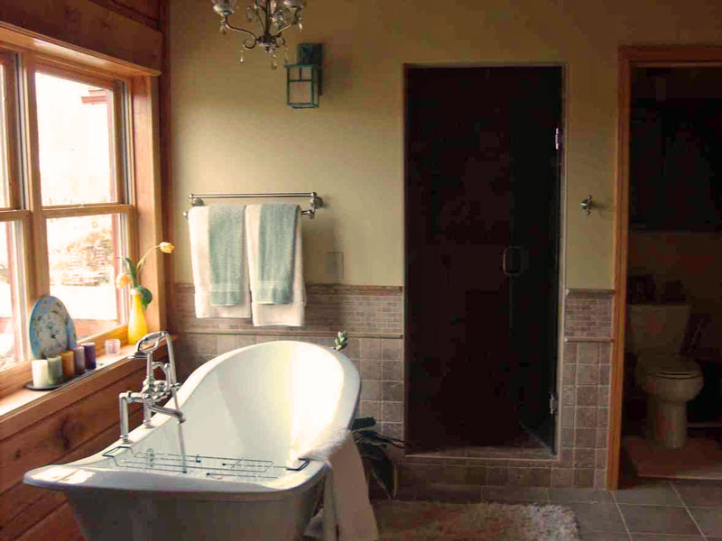 How to Design Your Dream Bathroom: An Key Feature of Your Log Home