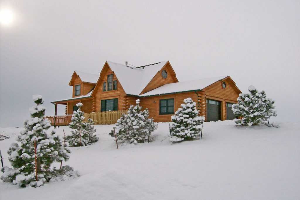 log home maintenance