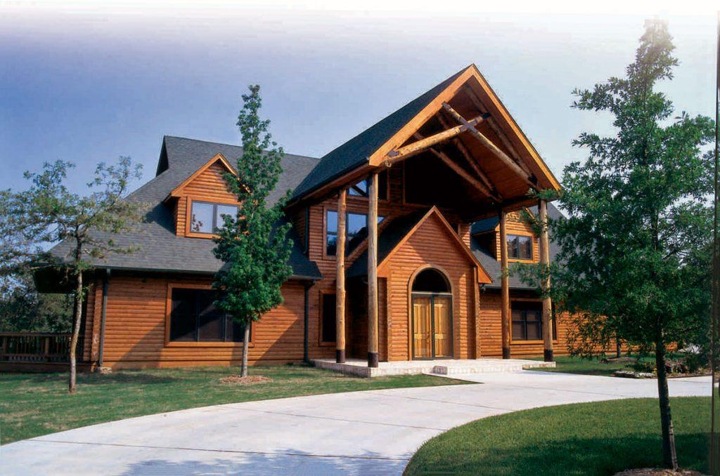 Pine, Cypress, Cedar & Oak Log Homes - Gastineau Log Homes