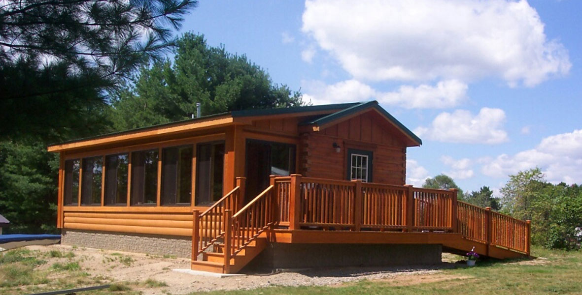 Log Cabin To Go Versus Park Model Homes and Tiny Homes