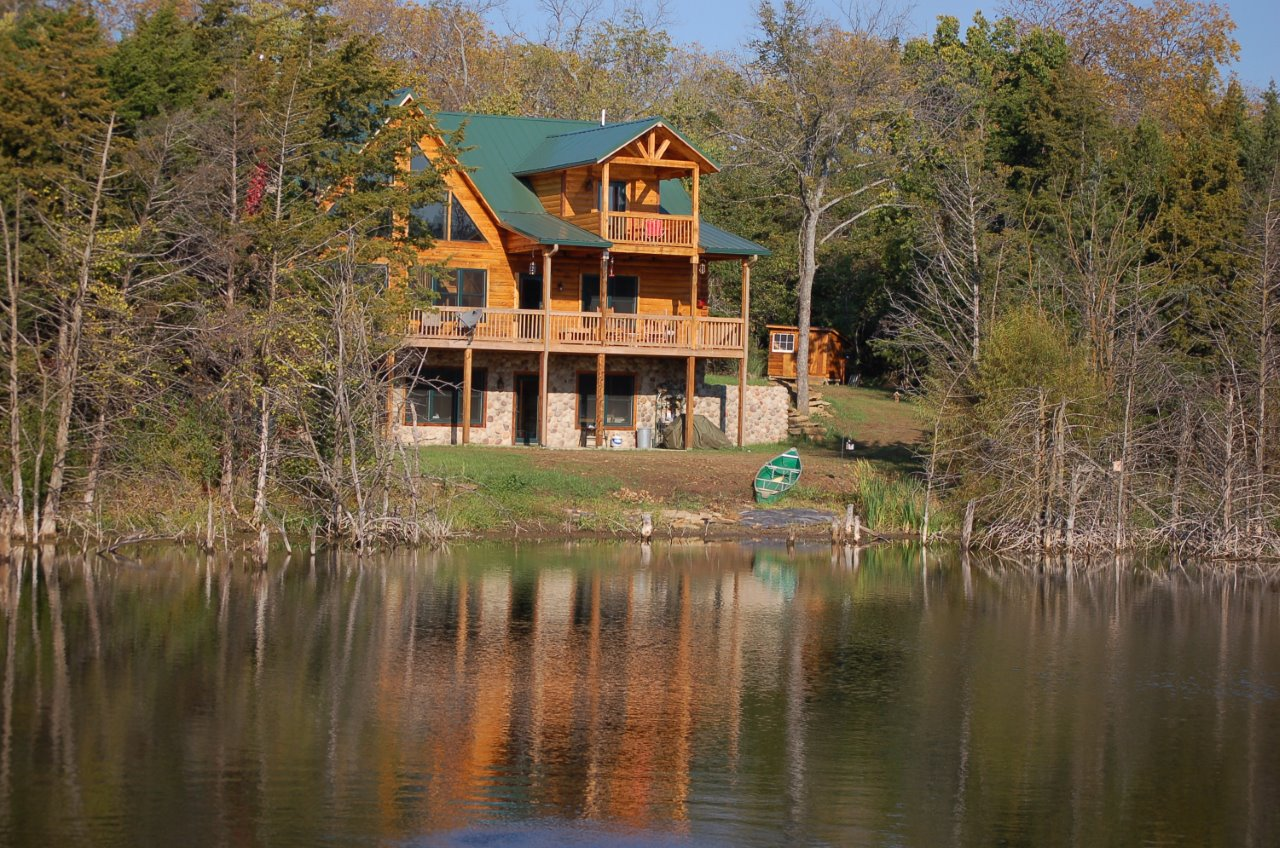 How to Safeguard your Log Home When Building by the Water