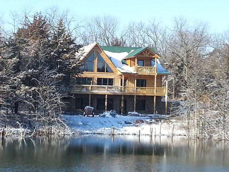 Winterizing Your Log Home is Essential