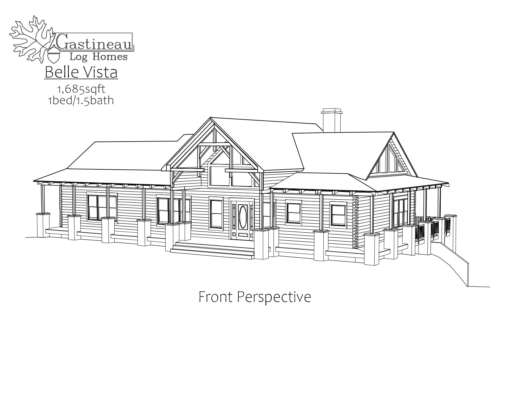 Belle Vista Floor Plan