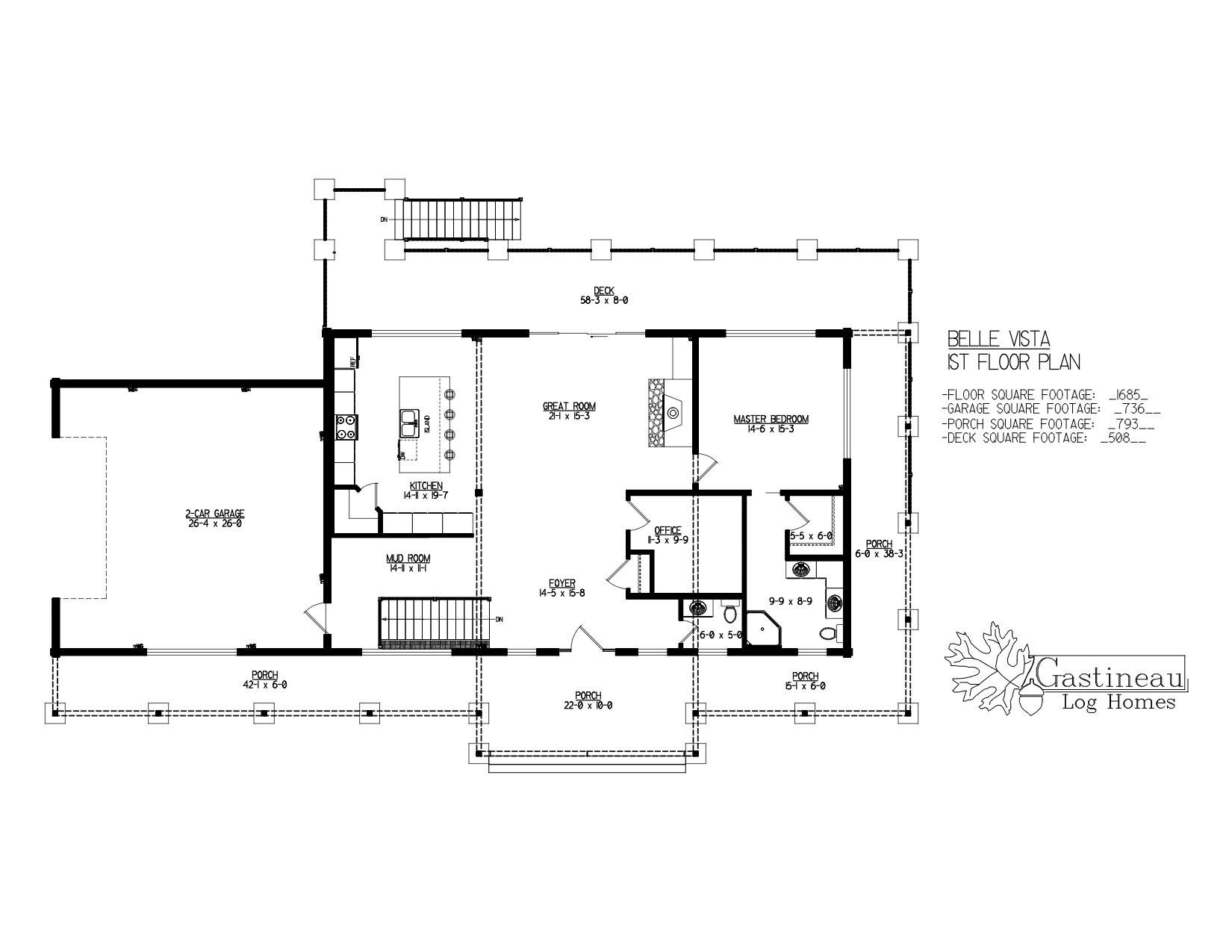 Belle Vista Floor Plan