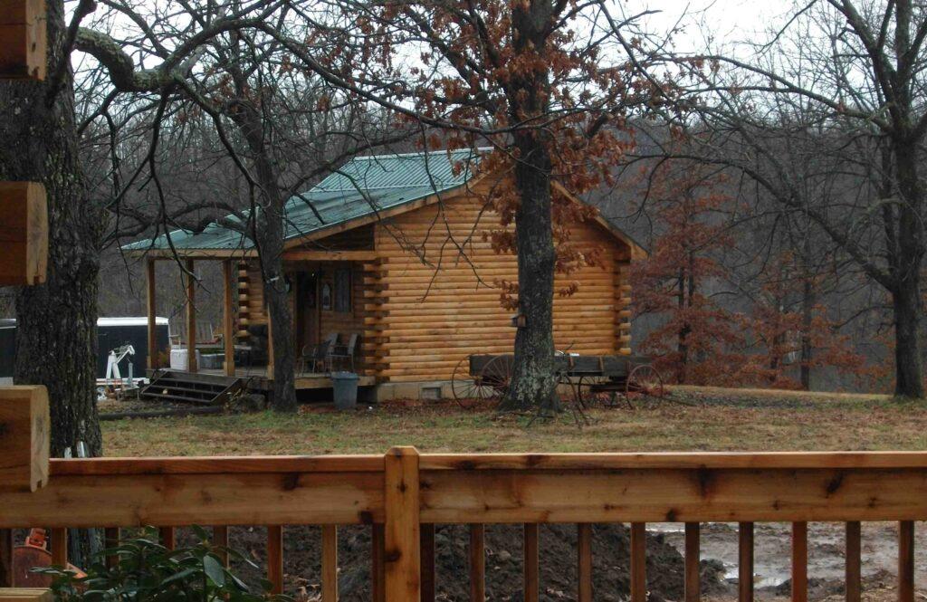 Kentucky Log Home