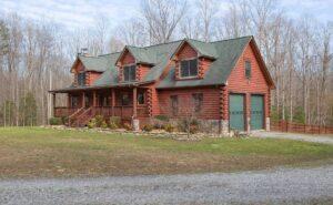 Virginia Log Home